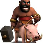 Clash of Clans Hog Rider by Jungyoomi