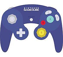 Gamecube Controller Design Photographic Print