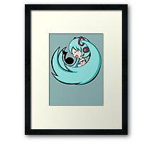 Singing Miku Framed Print
