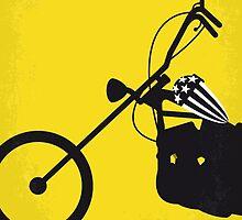 No333 My EASY RIDER minimal movie poster by Chungkong
