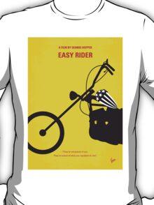 No333 My EASY RIDER minimal movie poster T-Shirt