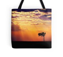 Sunset Over Masai Mara IV [Print & iPad Case] Tote Bag