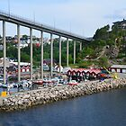 Kristiansund - Norwegian Coast by Leslie-Ann
