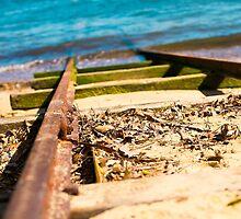Blue Train Tracks | Greenwich Baths by RedDash