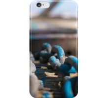 Chain Reaction | Greenwich Baths iPhone Case/Skin