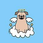 Pug Angel by zoel