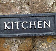 Kitchen sign by Louise Ebrey Hill