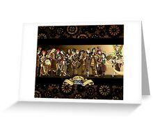 All Steampunk Disney Princess Greeting Card