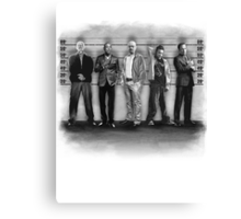 Breaking Bad/ The Usual Suspects (BW) Canvas Print