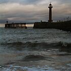 WHITBY PIER by NorthernWitch