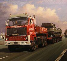 Lumsden's big Volvo by Mike Jeffries
