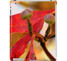 Fall Walk in my Neighborhood -CloseUp     ^ iPad Case/Skin