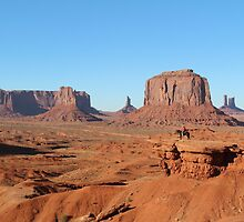 Monument Valley by Kirsten Thompson