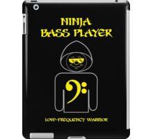 Ninja Bass Player iPad Case/Skin