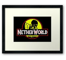 Nether World Framed Print