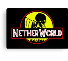 Nether World Canvas Print
