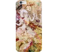 The Dancer and the Pierrot iPhone Case/Skin