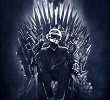 Daft Punk - Game of Thrones - Iron Throne by zenoconor