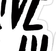 Live Wild: Ocean Sticker