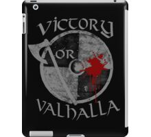 victory or valhalla (2) iPad Case/Skin