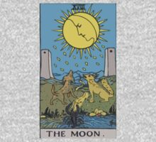 Tarot- The Moon by cadellin