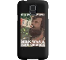 Ron Burgundy - Milk was a bad choice! Samsung Galaxy Case/Skin