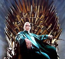 Harry Potter Voldemort - Game of Thrones - Iron Throne by zenoconor
