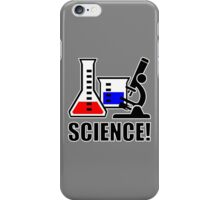 Excitement for Science! iPhone Case/Skin