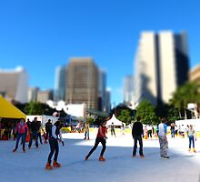 Ice skaters - tilt shifted by PhotosByG