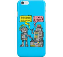 Robot Talk iPhone Case/Skin