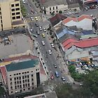 Above the City VII - Kuala Lumpur, Malaysia. by Tiffany Lenoir