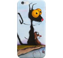 At the Edge of Reason! iPhone Case/Skin