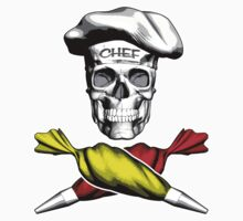 Pastry Chef Skull 6 by dxf1969