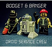Bodget & Banger- Droid Service Crew by Tim Constable