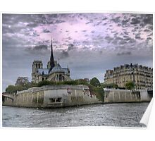 On the River Seine (4) Poster
