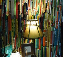 Stack Of Books by WildestArt