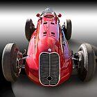 1939 Maserati 8CTF Race Car by DaveKoontz