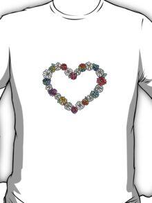 Empty Tie Dye Daisies T-Shirt