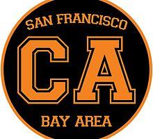 San Francisco California Bay Area CA by LGdesigns