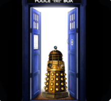 Police Box Coffee   Doctor Who Sticker