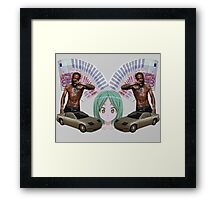 mc matome and the death grips chevy thang gang Framed Print