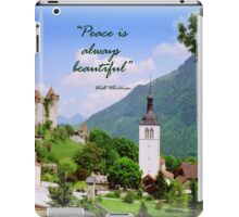 Swiss Valley iPad Case/Skin