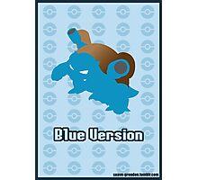 Pokémon: Blue Version Photographic Print
