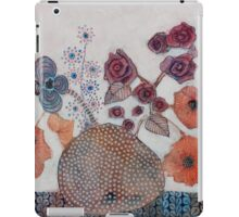 Poppies and roses iPad Case/Skin