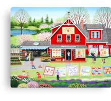 Springtime Wishes Canvas Print