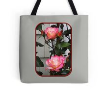 Roses on a Trellis Tote Bag