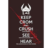 KEEP CROM Photographic Print