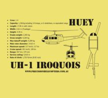 """Iroquois """"Huey"""" Helicopter Kids Clothes"""