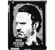 The Walking Dead- Wrong Person To Mess With iPad Case/Skin