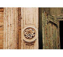 Old Church Door in Murano Photographic Print